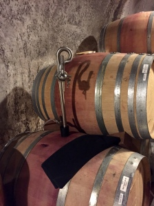 Pride Vineyard Cave, Barrel Tasting